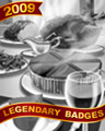 Cheese Course Badge - No Limit Texas Hold'em
