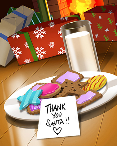 For Santa Badge - Cookie Connect