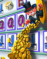 Windfall Wins Badge - MONOPOLY Slots