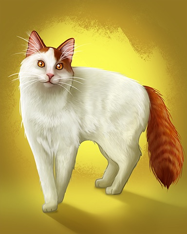 Turkish Van Badge - Tri-Peaks Solitaire HD