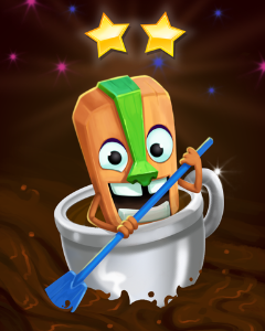 Caffeine Enthusiast Badge - Pogo Addiction Solitaire HD