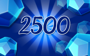 Blue Jewels 2500 Badge - Jewel Academy