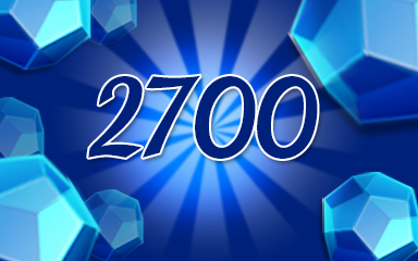 Blue Jewels 2700 Badge - Jewel Academy