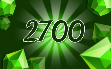 Green Jewels 2700 Badge - Jewel Academy