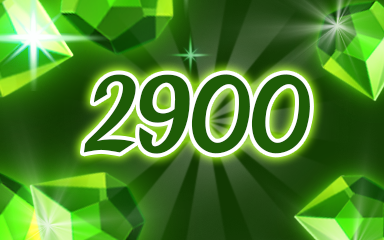 Green Jewels 2900 Badge - Jewel Academy