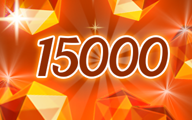 Orange Jewels 15000 Badge - Jewel Academy
