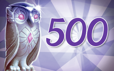 Owls 500 Badge - Jewel Academy