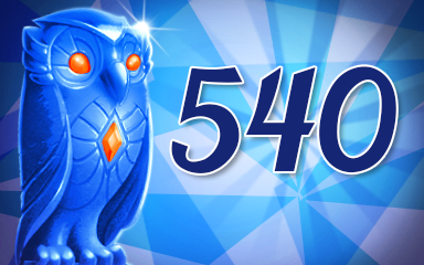 Owls 540 Badge - Jewel Academy