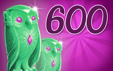 Owls 600 Badge - Jewel Academy