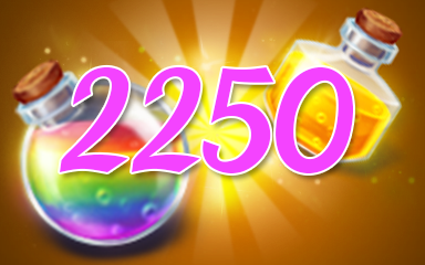 Power-Ups 2250 Badge - Jewel Academy