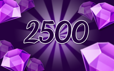 Purple Jewels 2500 Badge - Jewel Academy