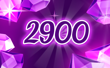 Purple Jewels 2900 Badge - Jewel Academy