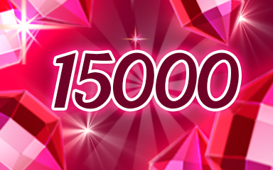 Red Jewels 15000 Badge - Jewel Academy
