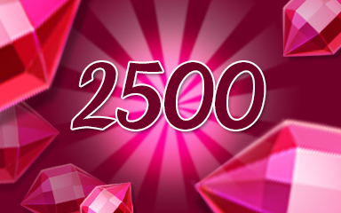 Red Jewels 2500 Badge - Jewel Academy