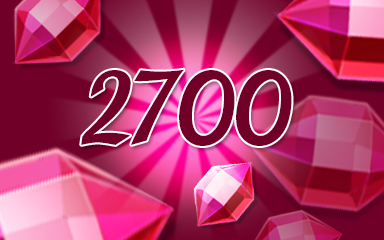 Red Jewels 2700 Badge - Jewel Academy