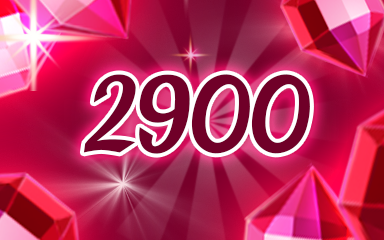 Red Jewels 2900 Badge - Jewel Academy