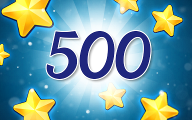 Stars 500 Badge - Jewel Academy