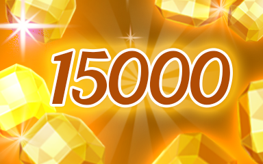 Yellow Jewels 15000 Badge - Jewel Academy
