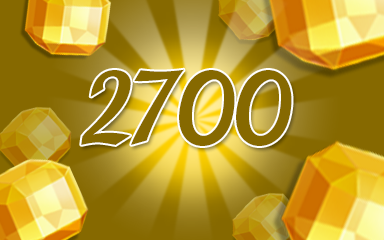 Yellow Jewels 2700 Badge - Jewel Academy
