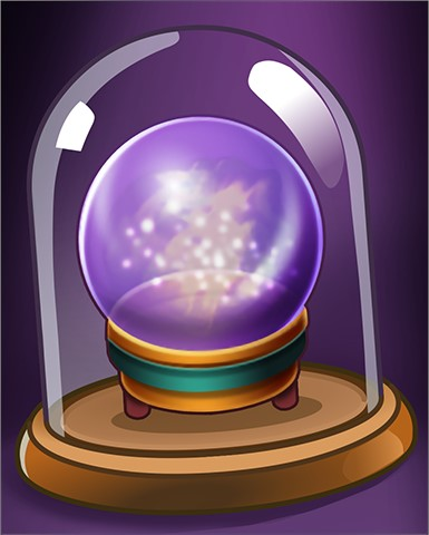 Claire's Crystal Ball Badge - Claire Hart: Secret In The Shadows