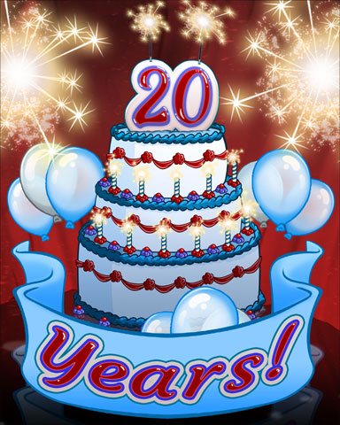 Pogo 20th Birthday Badge