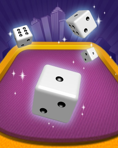 Dice Dabbler Badge - Dice City Roller HD