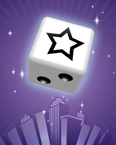 Star Power Badge - Dice City Roller HD