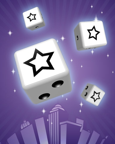 Starlet Badge - Dice City Roller HD