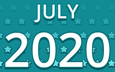 Starry July 2020 Badge - Pogo Daily Sudoku