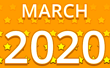 Starry March 2020 Badge - Pogo Daily Sudoku