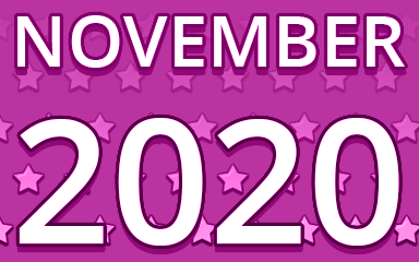 Starry November 2020 Badge - Pogo Daily Sudoku