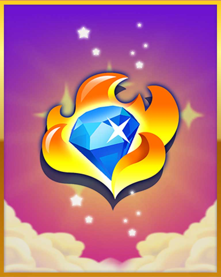 Boom Boom Badge - Bejeweled Stars