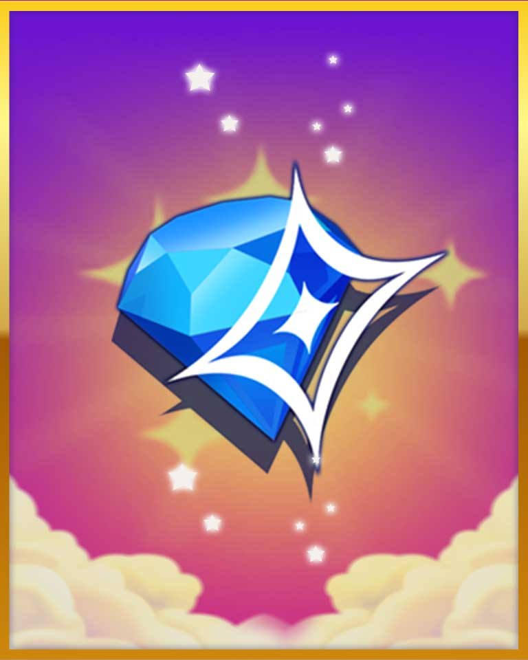 Superstar Badge - Bejeweled Stars