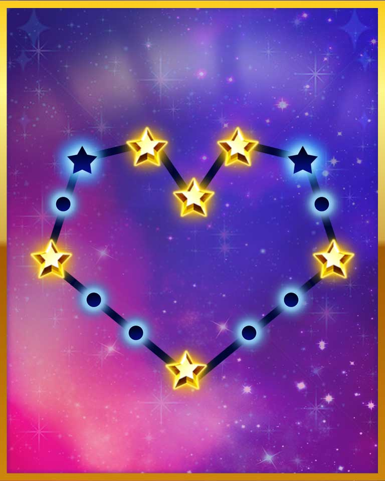 Astronomer Badge - Bejeweled Stars