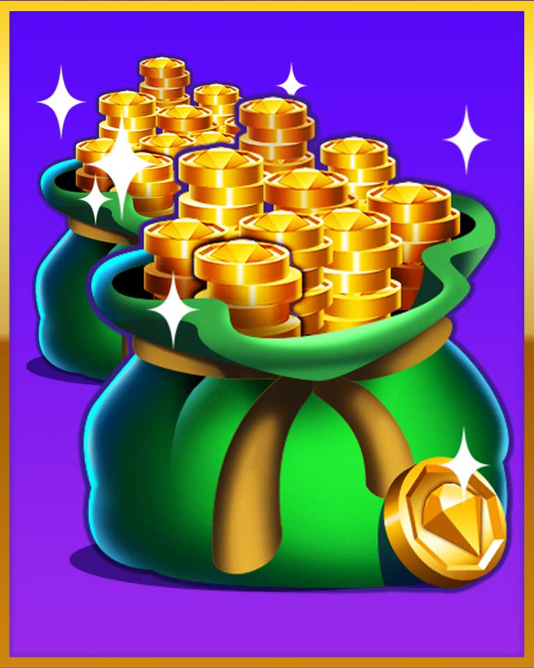 Mountains Of Gold! Badge - Bejeweled Stars