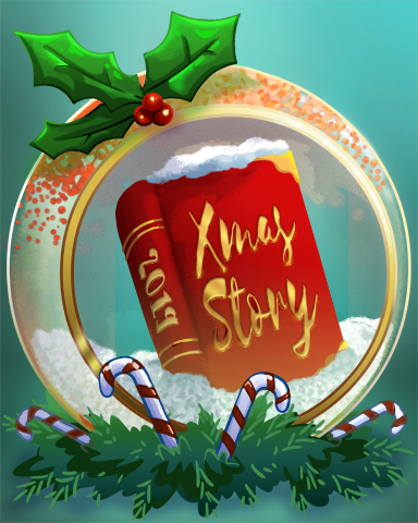 Rose's Holiday Album Badge - StoryQuest
