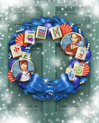 Quinn's Shell-a-bration Wreath Badge - Quinn's Aquarium