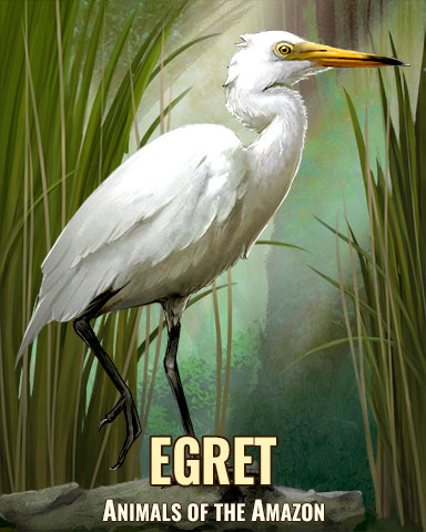 Egret Badge - Trizzle