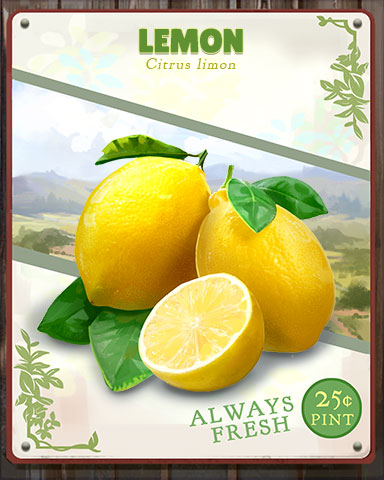 Lemon Produce Badge - Aces Up! HD