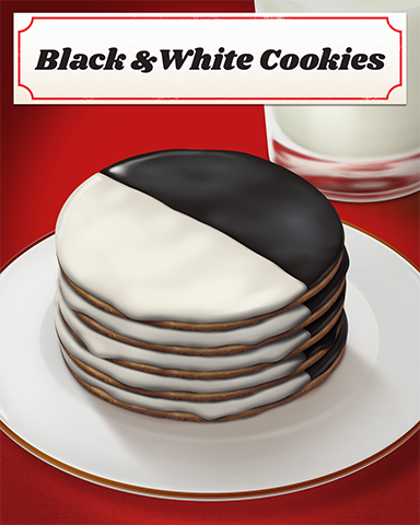 Black And White Cookies Badge - Lottso! Express HD