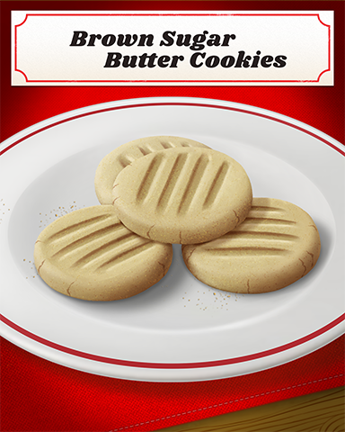 Brown Sugar Butter Cookies Badge - Sherlock Holmes