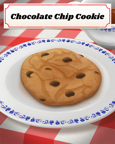 Chocolate Chip Cookie Badge - Jungle Gin