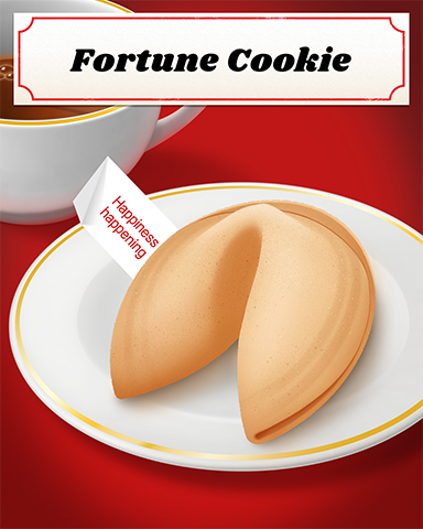Fortune Cookie Badge - Sweet Tooth Town