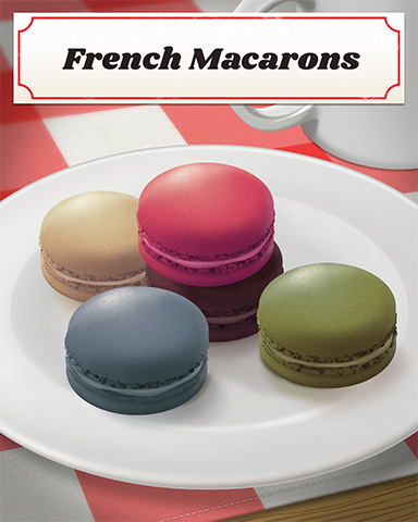 French Macarons Badge - Cookie Connect