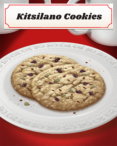 Kitsilano Cookies Badge - Double Deuce Poker HD