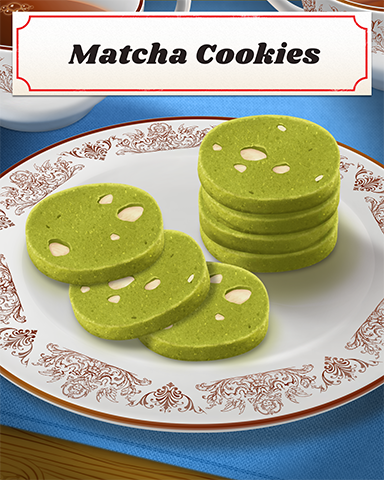 Matcha Cookies Badge - Jewel Academy