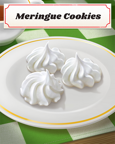 Meringue Cookies Badge - Poppit! Bingo