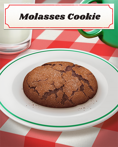 Molasses Cookie Badge - Pogo Addiction Solitaire HD