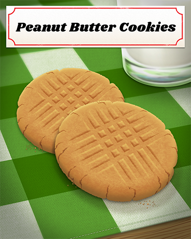 Peanut Butter Cookies Badge - Mahjong Sanctuary