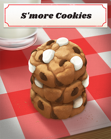 S'more Cookies Badge - Slingo Blast